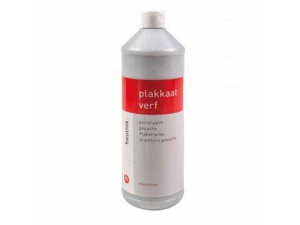 Barva Interpaint - třpytivá - stříbrná, 1l