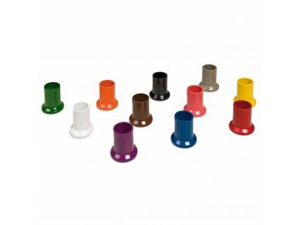 Sada 11 barevných nádobek na pastelky