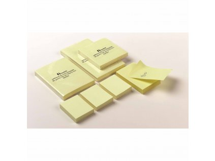 Self-adhesive notepads 51 x 38 mm 100 sheets set 3 pieces