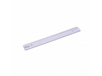Plastic ruler populair 30 cm
