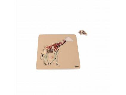 Puzzle pro nejmenší: žirafa