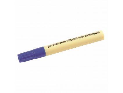 Permanent marker chisel tip blue
