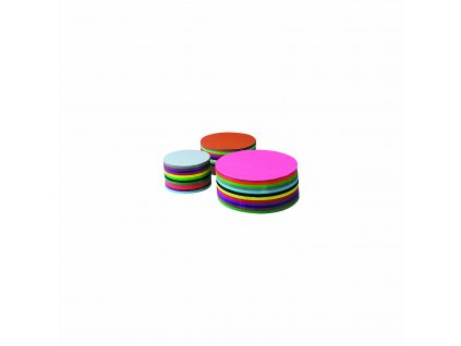 Craft paper 120 g round 16 cm 480 sheets 12 colours assorted