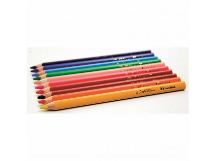Pastelky trojhranné Jumbo Goldline, 12 barev