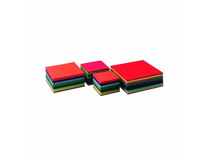 Craft cards 140 g 16 x 16 cm 240 sheets 12 colours assorted