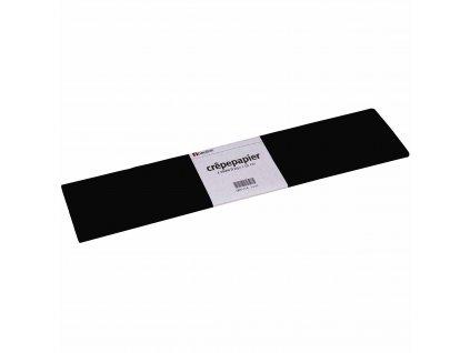 Krepový papír Floriade, černý