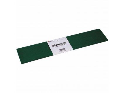 Krepový papír Floriade, tmavě zelený