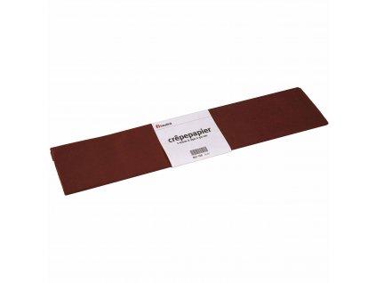 Krepový papír Floriade, hnědý