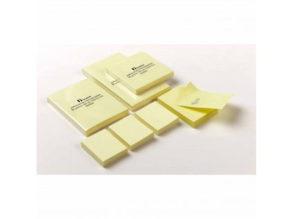 Self-adhesive notepads 51 x 76 mm 100 sheets