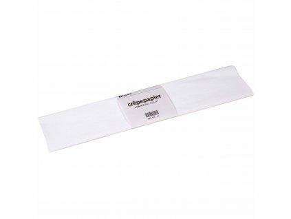 Krepový papír Floriade, bílý