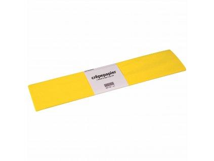 Krepový papír Floriade, žlutý
