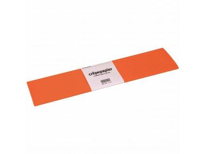 Krepový papír Floriade, oranžový