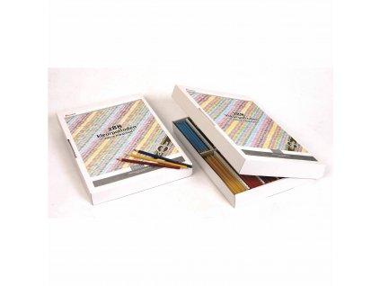 Pastelky šestihranné Goldline 3,7 mm, box 144 kusů (12 ks od 12 barev)