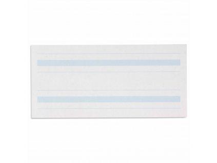 Psací papír, modře linkovaný 4x8,5