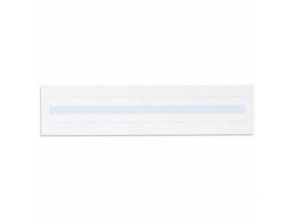 Psací papír, modře linkovaný 2x8