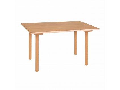 Stůl - A1 oranžový (70x50x46 cm)