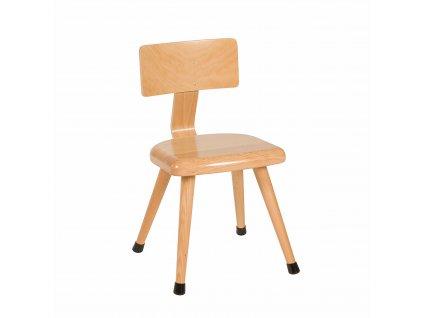 Židle - C3 žlutá (35 cm)