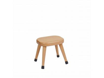 Stolička - A1 oranžová (26 cm)