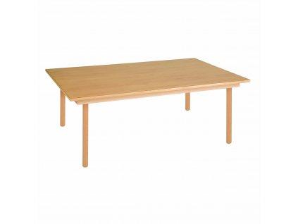 Stůl pro skupinu - A1 oranžový (120x80x46 cm)
