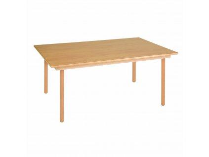 Stůl pro skupinu - B2 fialový (120x80x53 cm)