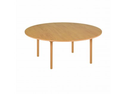 Kulatý stůl - A1 oranžový (115x46 cm)