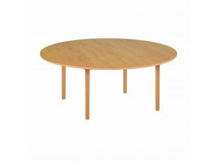 Kulatý stůl - B2 fialový (115x53 cm)