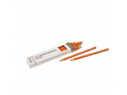 Pastelky – oranžové, 12 ks