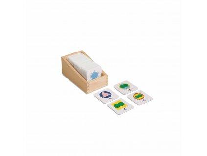 Násobky a dělitelé, malé karty