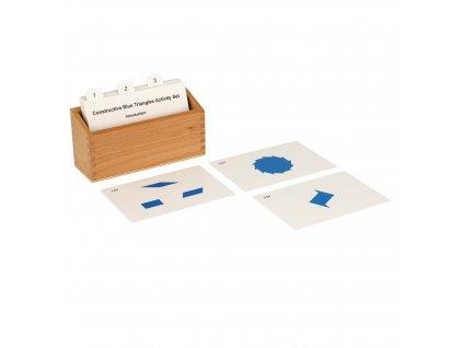 Sada aktivit k Modrým konstruktivním trojúhelníkům, anglicky