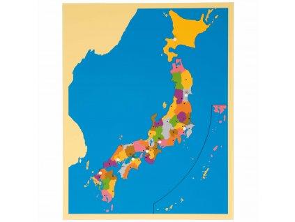 Puzzle – mapa Japonska