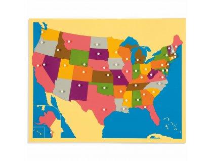 Puzzle – mapa USA
