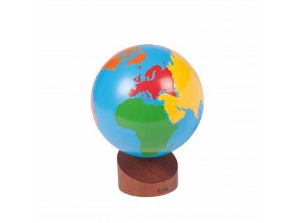 Globus 3 – Barevné kontinenty