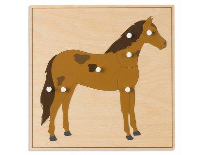 Puzzle – kůň