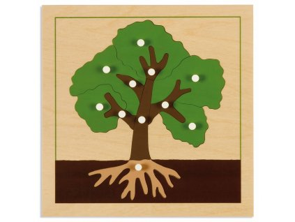 Puzzle – strom