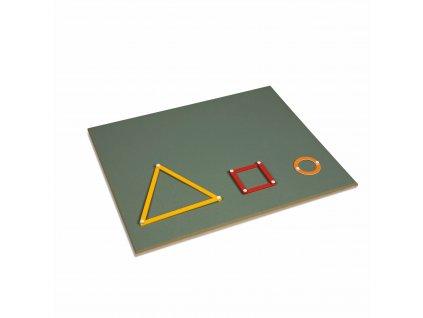 Pracovní deska ke Geometrickému konstrukčnímu materiálu