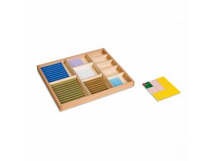 Dekanomický čtverec, s krabičkou