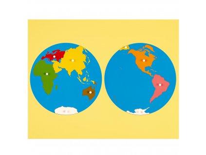 Puzzle – světadíly, Asijský pohled