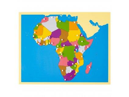 Puzzle – mapa Afriky