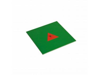 Malý kovový trojúhelník