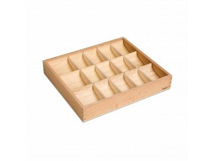 Krabička na symboly větných členů, 15 přihrádek