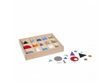 Symboly větných členů, plastové, v krabičce