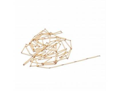 Tisícový řetěz – skleněné perličky samostatné