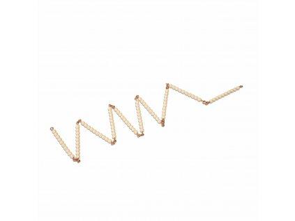 Stovkový řetěz – skleněné perličky samostatné