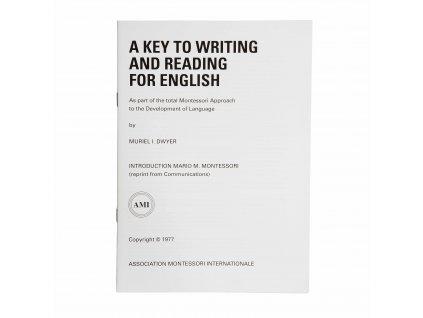 Klíč k psaní a čtení v angličtině