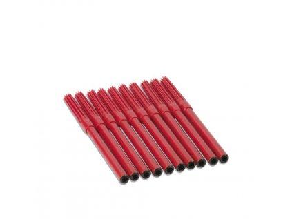Červené tužky pro Bodovou hru, 10 ks