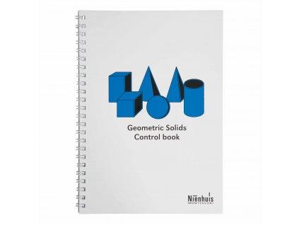 Kontrolní knížka ke Geometrickým tělesům, anglicky