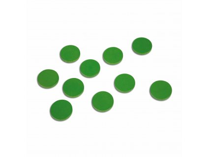 100 ks žetonů – zelených