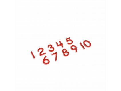 Čísla k Sudá a lichá, tiskací písmo, USA styl