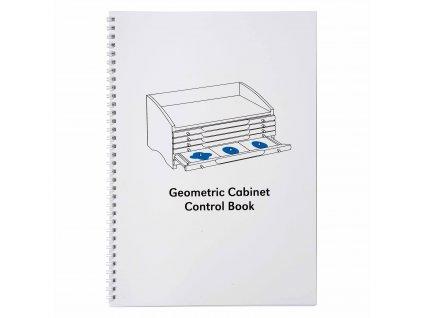 Kontrolní kniha ke Geometrické komodě, anglicky
