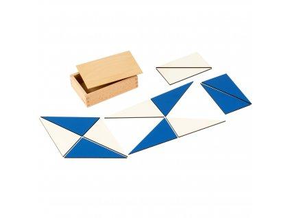 Modré konstrukční trojúhelníky